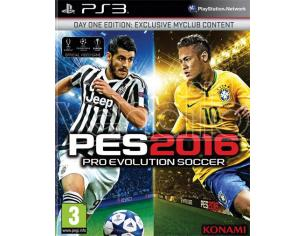 PRO EVOLUTION SOCCER 2016 D1 EDITION SPORTIVO - PLAYSTATION 3