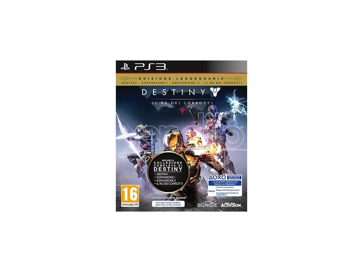 DESTINY: IL RE DEI CORROTTI SPARATUTTO - PLAYSTATION 3