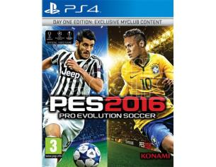 PRO EVOLUTION SOCCER 2016 D1 EDITION SPORTIVO - PLAYSTATION 4