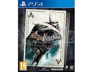BATMAN: RETURN TO ARKHAM AZIONE AVVENTURA - PLAYSTATION 4