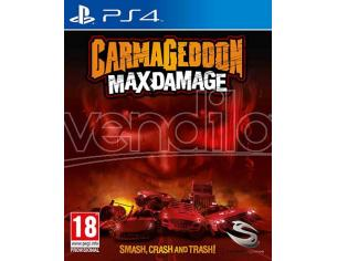 CARMAGEDDON MAX DAMAGE AZIONE - PLAYSTATION 4