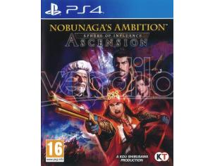 NOBUNAGA'S AMBITION SPHERE OF INFLUENCE STRATEGICO - PLAYSTATION 4