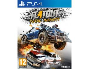 FLATOUT 4 - TOTAL INSANITY GUIDA/RACING PLAYSTATION