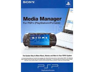 PSP SONY MEDIA MANAGER APPLICATIVI