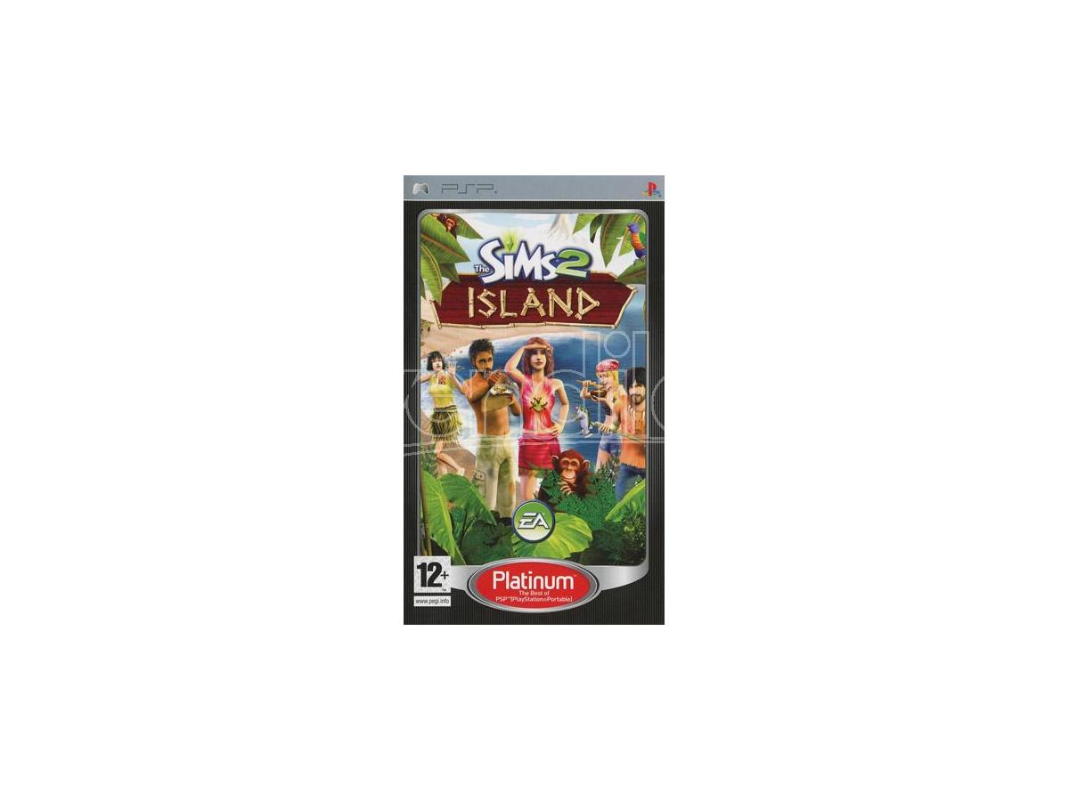 THE SIMS 2 ISLAND PLT SIMULAZIONE - SONY PSP