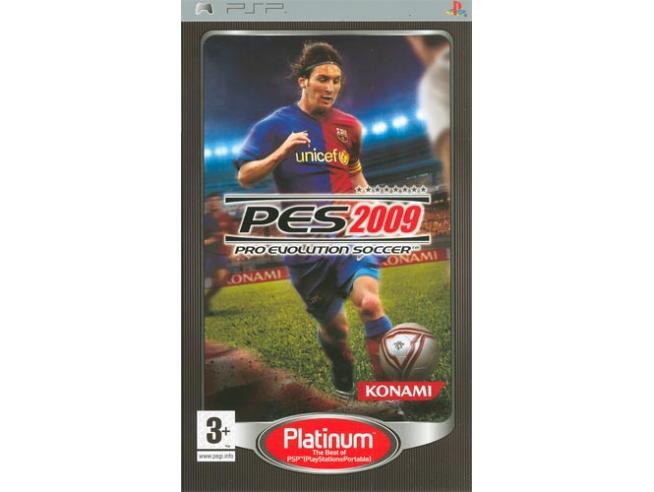 PRO EVOLUTION SOCCER 2009 PLT SPORTIVO - SONY PSP
