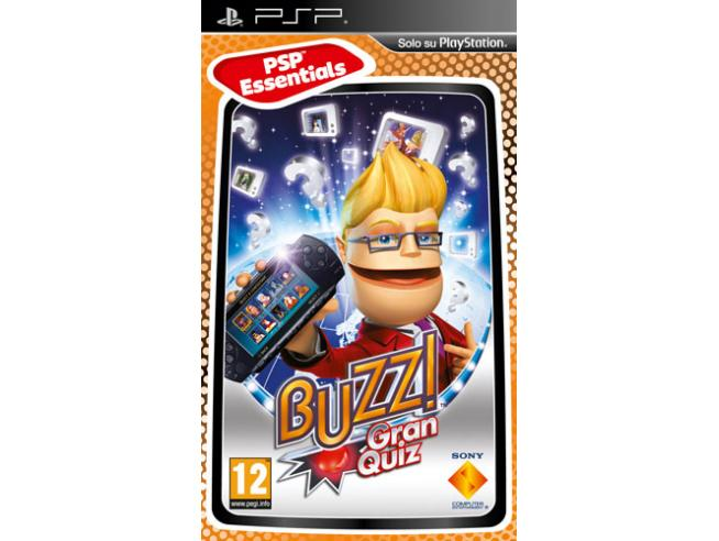ESSENTIALS BUZZ! GRAN QUIZ SOCIAL GAMES - SONY PSP