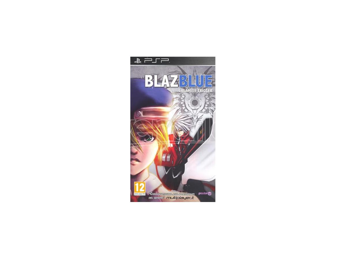 BLAZE BLUE CALAMITY TRIGGER PICCHIADURO - SONY PSP