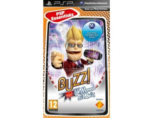 ESSENTIALS BUZZ UN MONDO DI QUIZ SOCIAL GAMES - SONY PSP