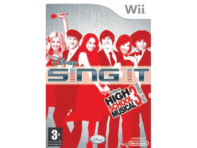 DISNEY SING IT! HIGH SCHOOL MUSICAL SOCIAL GAMES - WII