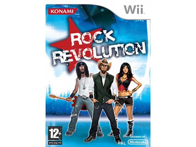 ROCK REVOLUTION SOCIAL GAMES - WII