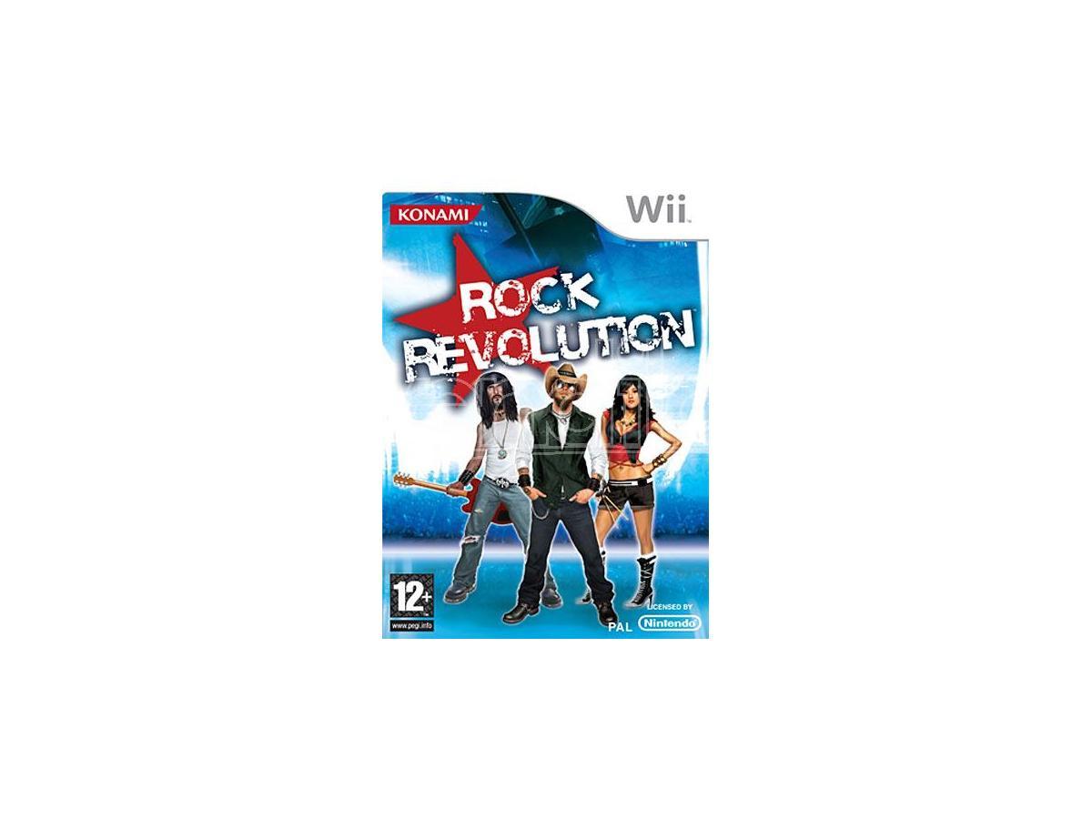 ROCK REVOLUTION SOCIAL GAMES - WII