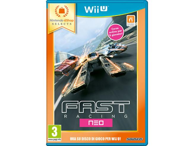 FAST RACING NEO ESHOP SELECT STRATEGICO - WII U