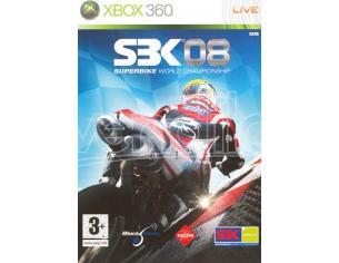 SBK 08 GUIDA/RACING - XBOX 360