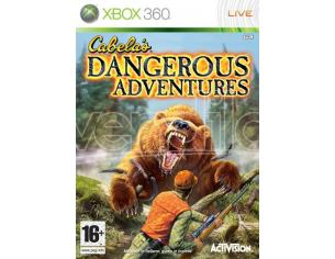 CABELA'S DANGEROUS ADVENTURES AVVENTURA - XBOX 360