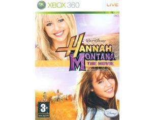 HANNAH MONTANA THE MOVIE SOCIAL GAMES - XBOX 360