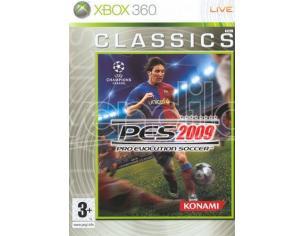 PRO EVOLUTION SOCCER 2009 CLS SPORTIVO - XBOX 360