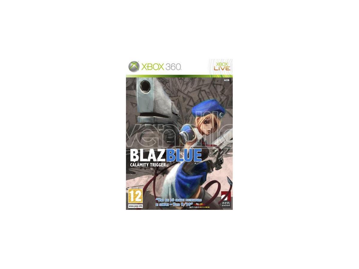 BLAZBLUE CALAMITY TRIGGER PICCHIADURO - XBOX 360