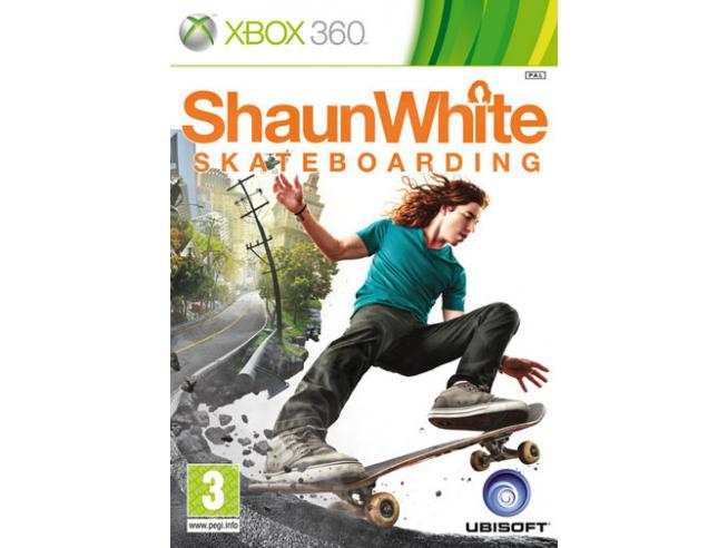 SHAUN WHITE SKATEBOARDING SPORTIVO - XBOX 360