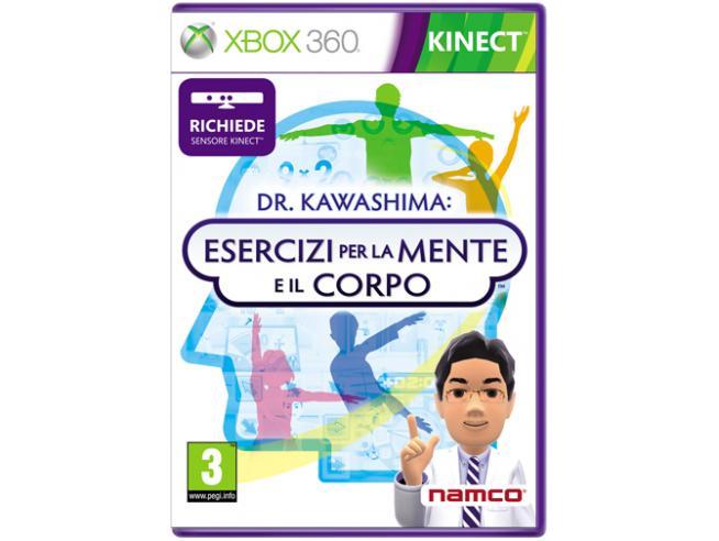 DR KAWASHIMA: ESERCIZI PER MENTE E CORPO PARTY GAME - XBOX 360