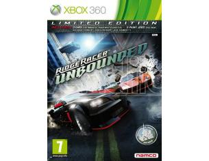 RIDGE RACER UNBOUNDED LIMITED EDITION GUIDA/RACING - XBOX 360