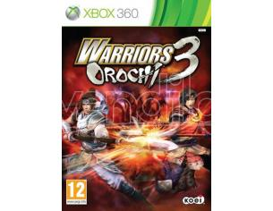 WARRIORS OROCHI 3 AZIONE - XBOX 360