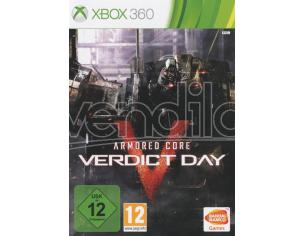 ARMORED CORE: VERDICT DAY AZIONE - XBOX 360