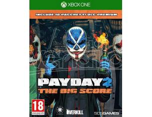PAY DAY 2 - THE BIG SCORE SPARATUTTO XBOX ONE