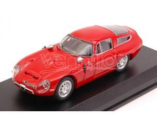 Best Model BT9059 ALFA ROMEO TZ1 1963 PROVA RED 1:43 Modellino