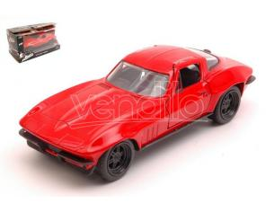 JADA TOYS JADA98306 LETTY CHEVY CORVETTE FAST & FURIOUS RED 1:32 Modellino