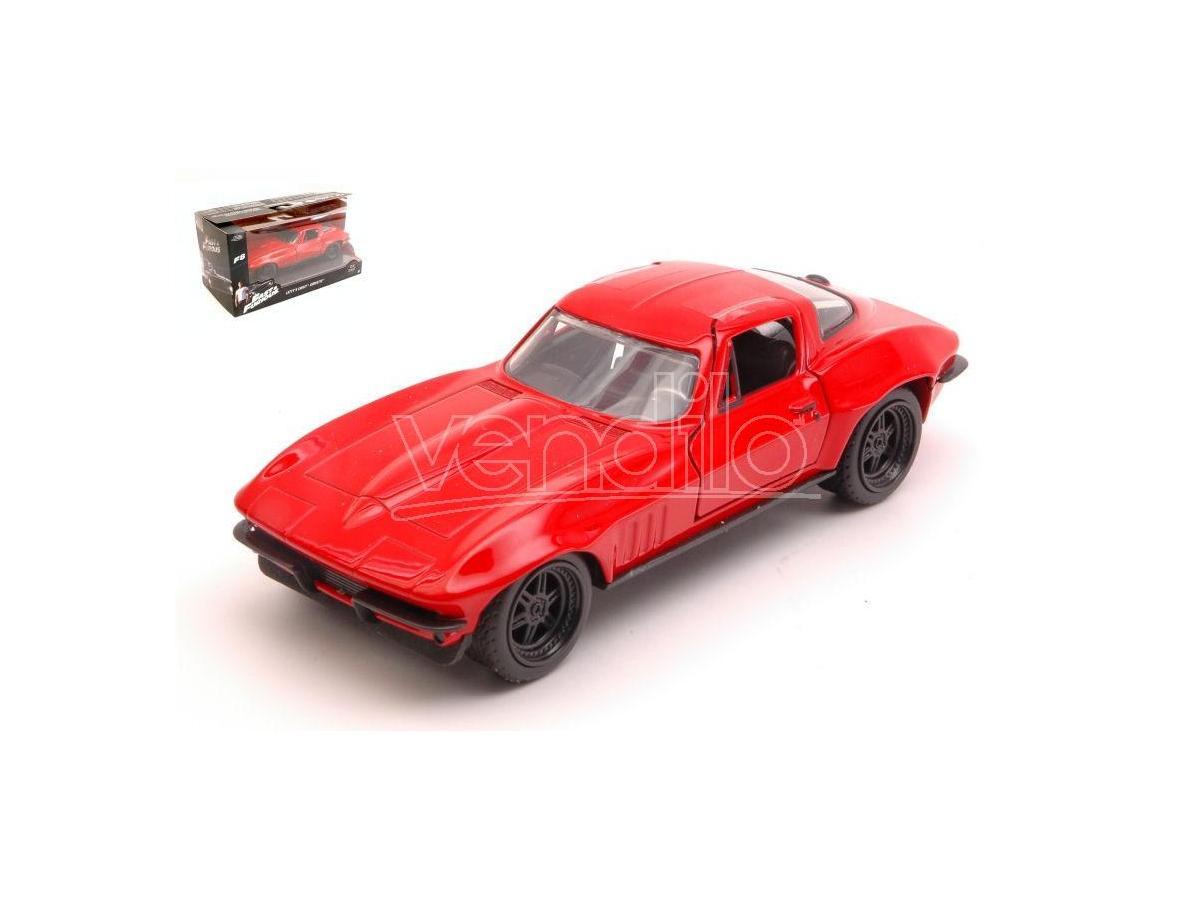 Jada JADA98306 LETTY'S CHEVY CORVETTE FAST & FURIOUS RED 1:32 Modellino