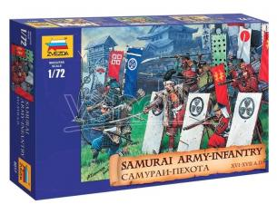 Zvezda Z8017 SAMURAI WARRIORS KIT 1:72 Modellino