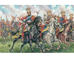Italeri IT6039 POLISH LANCER NAPOLEONIC WARS KIT 1:72 Modellino