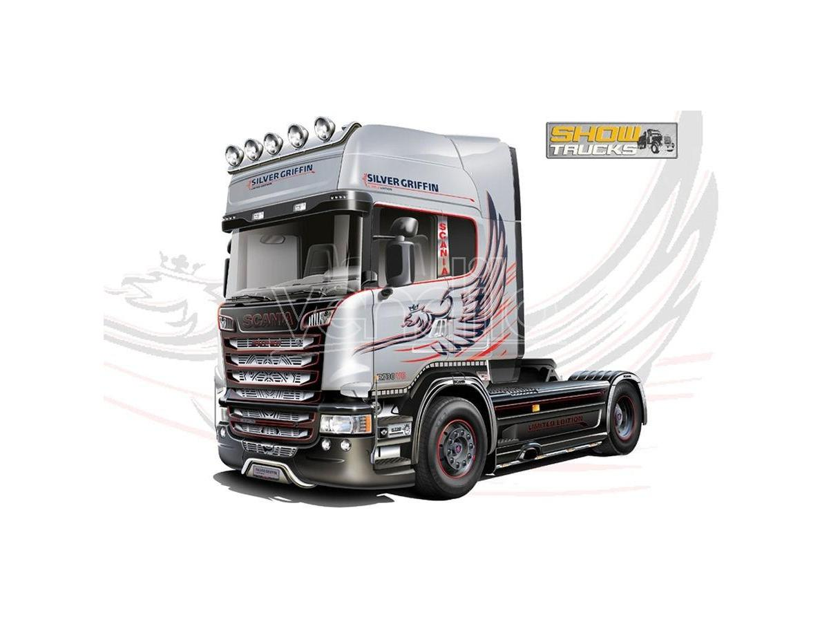 Italeri IT3906 SCANIA R730 STREAMLINE 4x2 KIT 1:24 Modellino