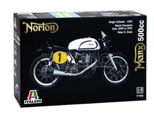 Italeri IT4602 NORTON MANX 500cc KIT 1:9 Modellino