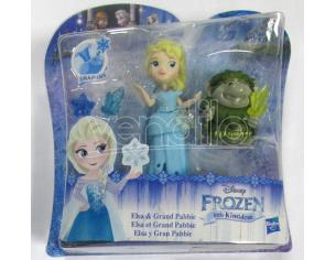 FROZEN SMALL DOLL ELSA E PABBIE DISNEY - BAMBOLE ACCESSORI