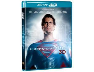 L'UOMO D'ACCIAIO 3D AZIONE - BLU-RAY