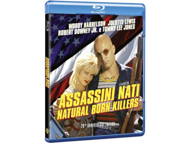 NATURAL BORN KILLERS 20TH ANNIVERSARY ED AZIONE - BLU-RAY
