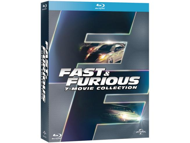 FAST & FURIOUS COLLECTION (7 FILM) AZIONE - BLU-RAY