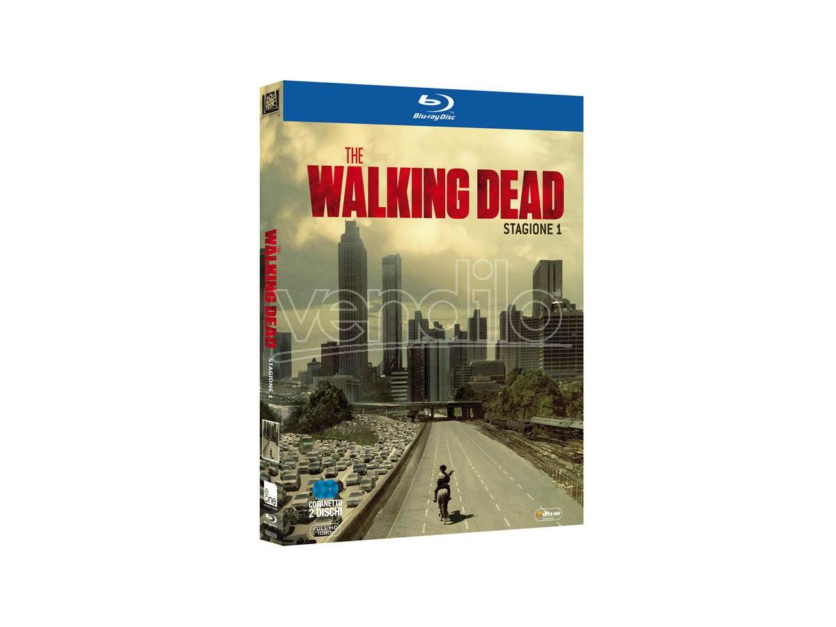THE WALKING DEAD - STAGIONE 1 HORROR BLU-RAY