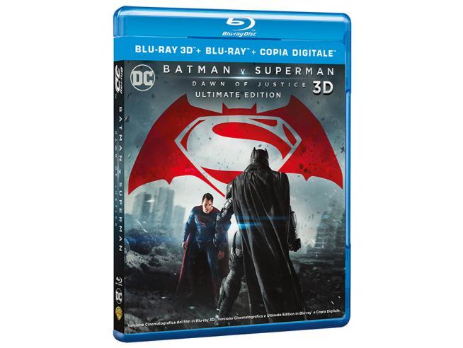 BATMAN VS SUPERMAN: DAWN OF JUSTICE 3D AZIONE - BLU-RAY