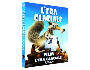 L'ERA GLACIALE COLLECTION (1-4) ANIMAZIONE - BLU-RAY