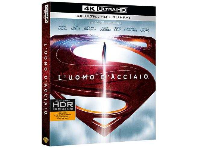 L'UOMO D'ACCIAIO 4K UHD AZIONE - BLU-RAY