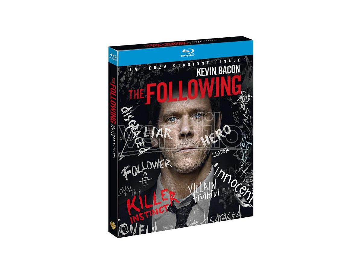 THE FOLLOWING - STAGIONE 3 THRILLER BLU-RAY