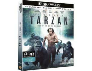 THE LEGEND OF TARZAN 4K UHD AZIONE - BLU-RAY
