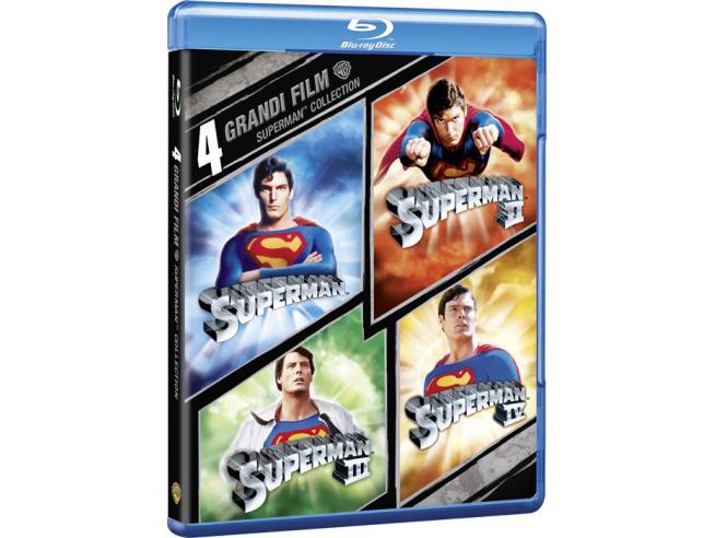 4 GRANDI FIL: SUPERMAN COLLECTION AZIONE - BLU-RAY