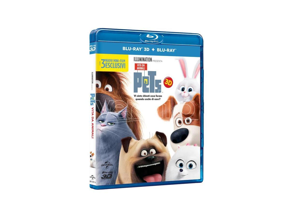 PETS: VITA DA ANIMALI 3D ANIMAZIONE - BLU-RAY
