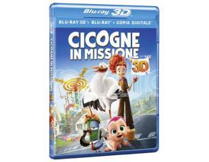 CICOGNE IN MISSIONE 3D ANIMAZIONE - BLU-RAY