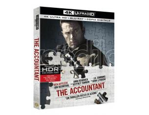 THE ACCOUNTANT 4K UHD AZIONE - BLU-RAY