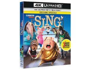 SING 4K UHD ANIMAZIONE - BLU-RAY